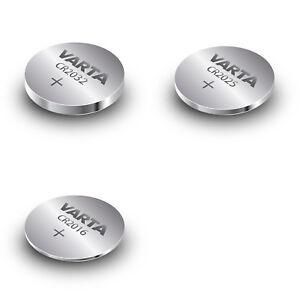 10x-VARTA-CR2032-CR2025-CR2016-Li-Mn-3-V-Knopfzellen-nach-Wahl