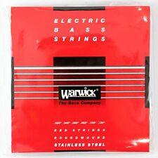 8-String WARWICK RED Strings Stainless Steel Bass Medium .017-.100