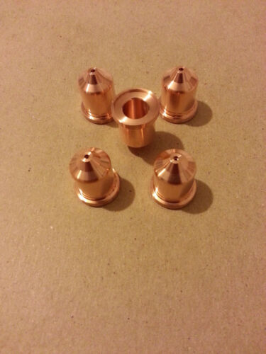 220819 65Amp Aftermarket Tips for Hypertherm plasma cutter pack of 5pcs