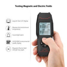 Electromagnetic Radiation Tester Emf Meter Electric Magnetic Field Detector P9e5