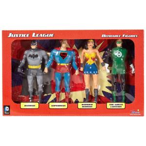 Justice League 4 Piece Bendable Figures NJCroce 3900