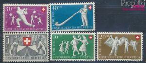 Schweiz-555-559-postfrisch-1951-Pro-Patria-7497671