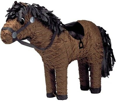 Horse Pinata - Farm Animal Western Cowboy Themed Birthday Party Games & Supplies