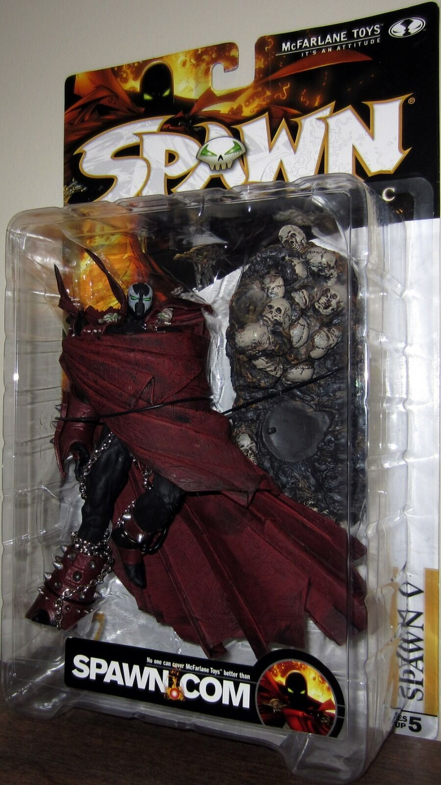 SPAWN V SERIES 17, CLASSIC ACTION FIGURE MCFARLANE TOYS 2000