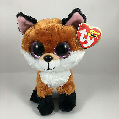 "TY Beanie Boos 6/"" TALA the Brown Dog Plush Stuffed Animal Toy MWMTs Heart Tags"