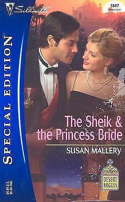 The Sheikh and the Princess Bride by Susan Mallery (Silhouette paperback 2005)