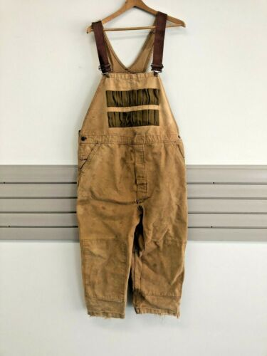 Vintage Canvas DUXBAK COVERALLS XL hunting overall
