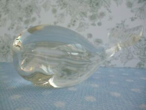 Wedgwood-Glass-Whale-Ornament-Vintage