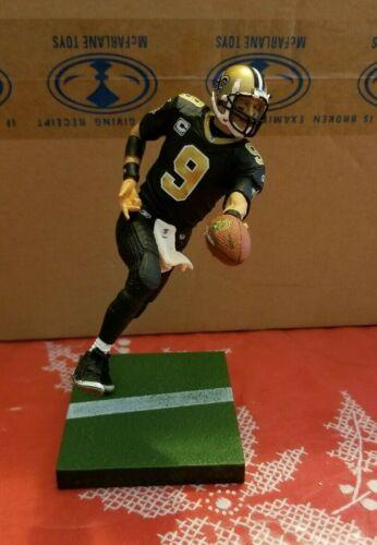 Drew Brees McFarlane NFL Series 21 Comme neuf loose jamais affiché Rapide Livraison Gratuite