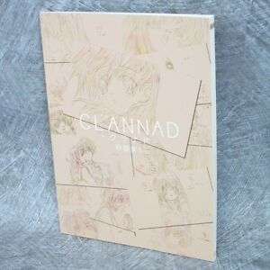 CLANNAD-Gengashu-1-Art-Original-Drawing-Illustration-Key-Book