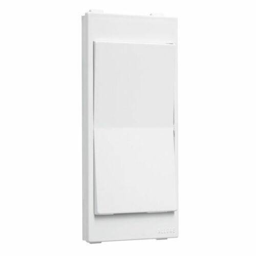 White TayMac A20W Allure Rocker Switch Insert New 3 Pack