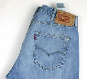 Levi's Strauss & Co Hommes 501 Jeans Jambe Droite Taille W38 L34 AKZ722