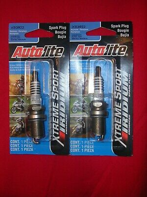 Autolite XS3922 Xtreme Sport Iridium Powersports Spark Plug Pack of 1