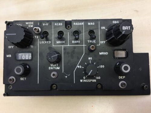 RAF Aircraft Control Panel