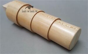 Oval Wood Stepped Mandrels With Tang Bangle Bracelet Shaping Wooden Jewellery