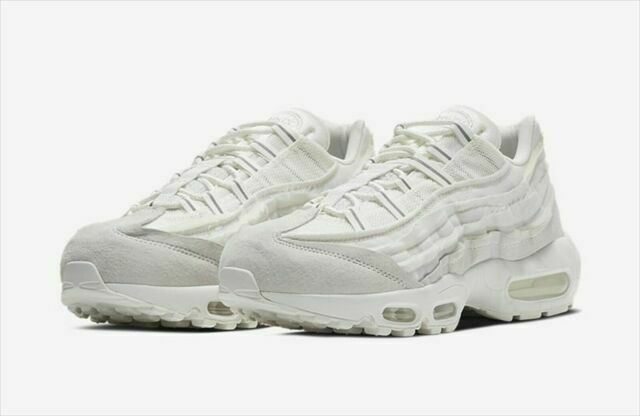 Size 10 - Nike Air Max 95 x Comme des Garcons White 2020 for sale ...
