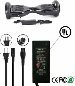 UL-Certified-42V-Power-Adapter-Charger-2-Wheel-Self-Balancing-Hoverboard-Scooter