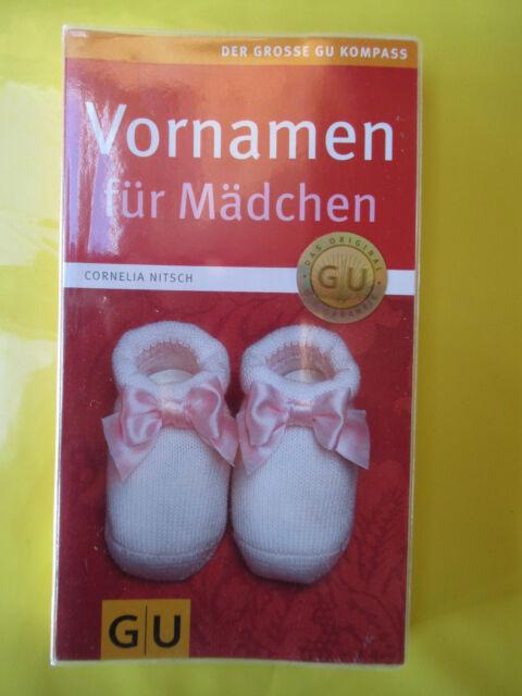 Vornamen für Mädchen von Cornelia Nitsch (2008, Taschenbuch)