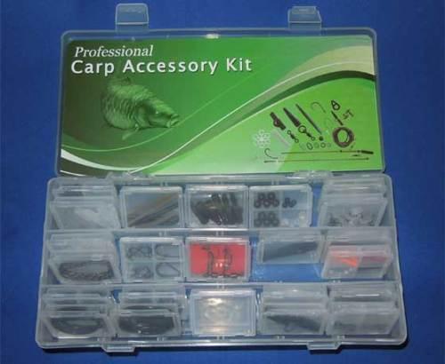 angling Professional Carp Fishing Tackle Box Bundle,lead clips
