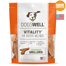 Dogswell Vitality Grillers Chicken Dog Treats, 5-Ounce Bag
