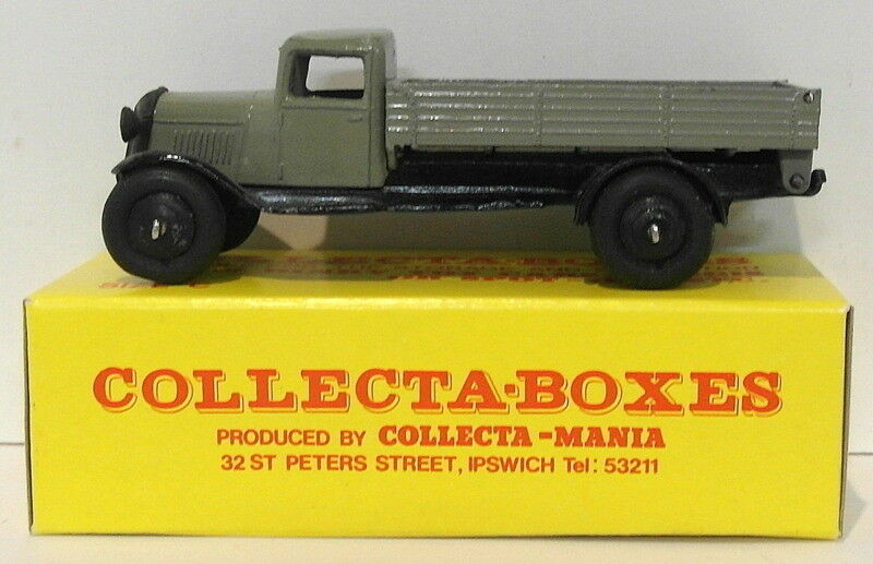 Vintage Dinky 25E3 - Tipping Wagon - grau In Collecta Box