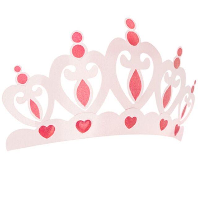 26 X14 Pink Metal Crown Wall Decor