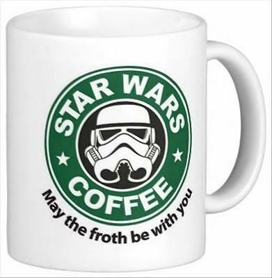 Froth Be With You Star Wars Coffee Mug Tea Cup