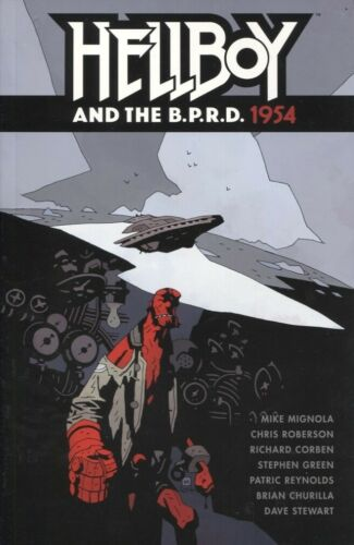 HELLBOY AND THE BPRD 1954 TPB REPS DARK HORSE MIKE MIGNOLA NEW//UNREAD
