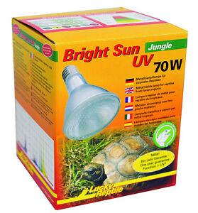 Chanceux Reptile Soleil Jungel Uv 70 Watt / Uva Uvb Spotlight Lamp