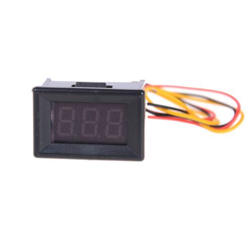 DC0-100V LED Mini Digital Voltmeter Volt Meter Gauge Voltage Panel Meter 3 wCES