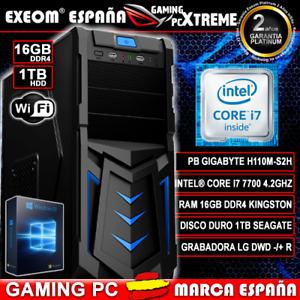 Ordenador-Gaming-Pc-Intel-Core-I7-7700-7Th-Gen-16GB-DDR4-1TB-HDMI-De-Sobremesa