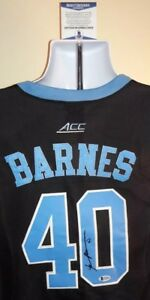 detailed look 5e330 c69f0 Details about Harrison Barnes North Carolina Tar Heels Autographed Jordan  Jersey Beckett Cert