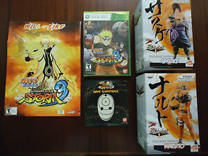 Naruto-Shippuden-Ultimate-Ninja-Storm-3-Xbox-360-With-2-Statues-amp-Soundtrack