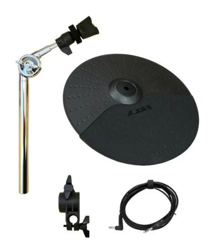 "Clamp Alesis Surge//Command Expansion Set: 10 Inch Choke Cymbal Cable 15/"" Arm"