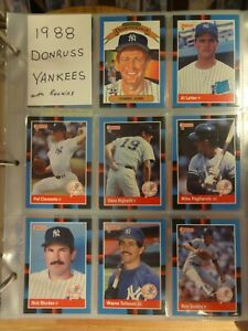 1988 Donruss The Rookies Complete Set /& Puzzle NEW