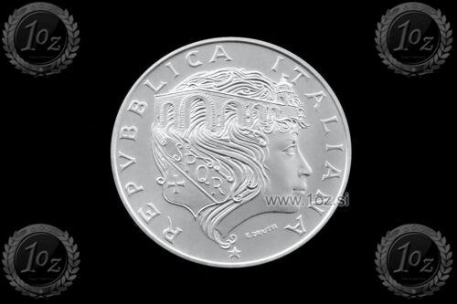 PONTE MILVIO ITALY 500 LIRE 1991 SILVER Commemorative coin UNC KM# 147