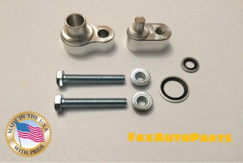 New rear A//C Block Off Kit 2008-2011 Buick Enclave Dual bolts CNC USA Made