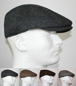 Classic wool herringbone flat driver ivy golf hats gatsby cap image is loading classic wool herringbone flat driver ivy golf hats altavistaventures Image collections