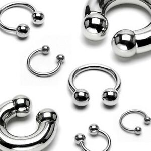 Surgical-Steel-Horseshoe-Circular-Barbell-with-Ball-Septum-Nipple-Cartilage-Ring