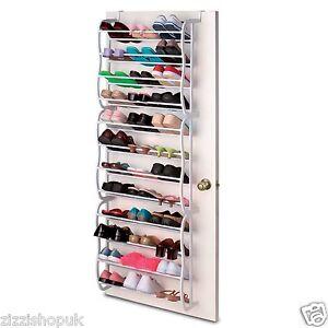 36-Pair-Over-Door-Hanging-Shoe-Rack-12-Tier-Shelf-Organiser-Storage-Stand-Holder