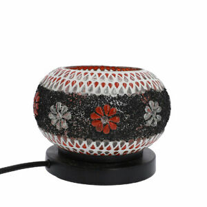 Shungite-Floral-Mosaic-Turkish-Himalayan-Rock-Salt-Table-Lamp-E-26-Bulb-Required
