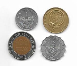 RUANDA-Lote-de-monedas