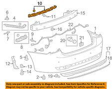 Chevrolet GM OEM 11-15 Cruze Rear Bumper-Corner Support Right 96962848
