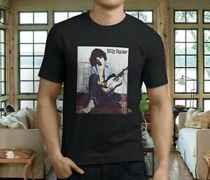 New Billy Squier Don/'t Say No Men/'s White T-Shirt Size S-3XL