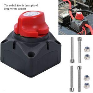 Aislador Universal Interruptor Desconectador Corta Corriente de Bateria Coche