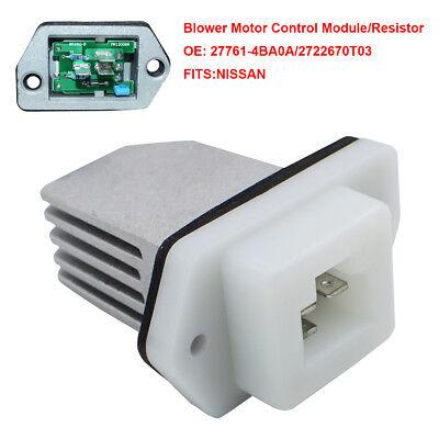 Heater Blower Motor Resistor for Nissan NV Rogue Sentra NV3500 27761-4BA0A Part