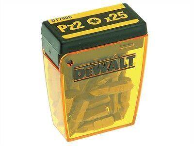 DEWALT DT7908 Torsion Pozi Bits PZ2 25mm - Various Quantity