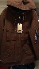 ALPHA INDUSTRIES m51 FISHTAIL PARKA hooded limited Military jacket men's large