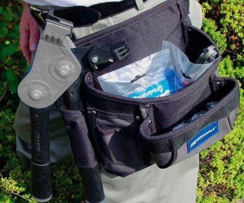 Práctico Gripple Esgrima Cinturón de herramientas-Bolsa para alambre carpinteros Plus ganchos para herramientas