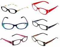 LOT 3 WOMEN OPTICAL READING GLASSES CLEARANCE LADIES +3.00